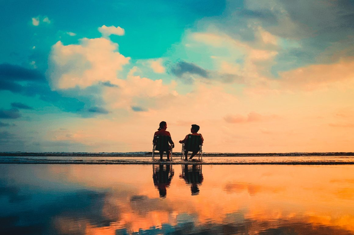 playa microrelato relato microcuento pareja amor