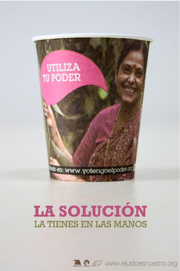 Octubre Mes Fairtrade con AllianceVending y el café vending de Comercio Justo