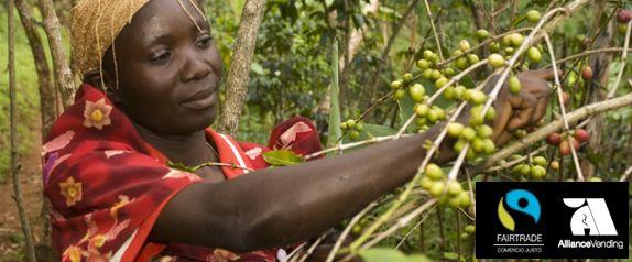 Fairtrade cafe comercio justo AllianceVending