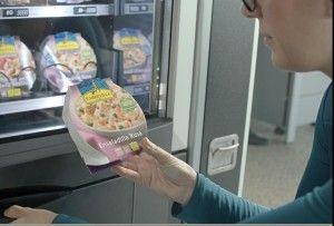Ensaladas Carretilla en máquinas expendedoras