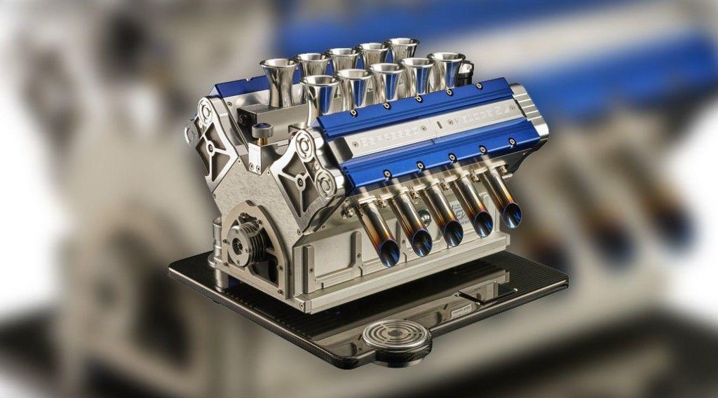 foto cafe motor V formula 1