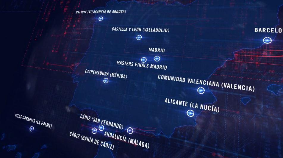 mapa world padel tour