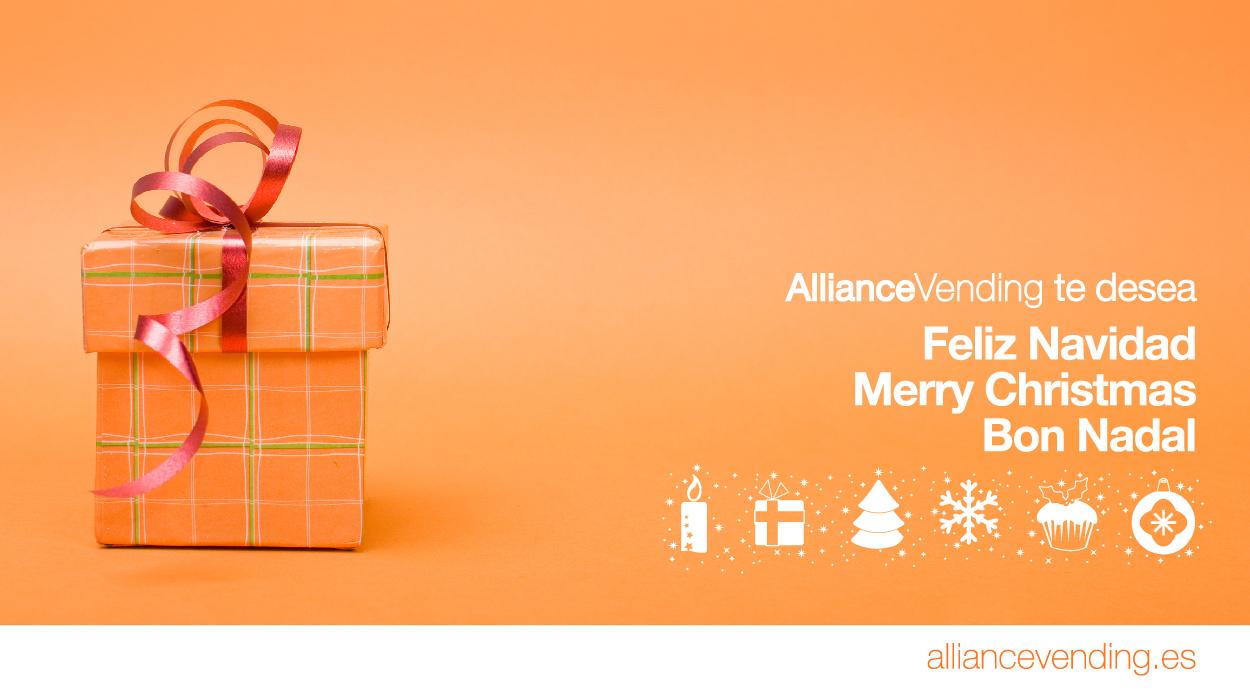 AllianceVending te desea una feliz Navidad y un próspero año nuevo 2012