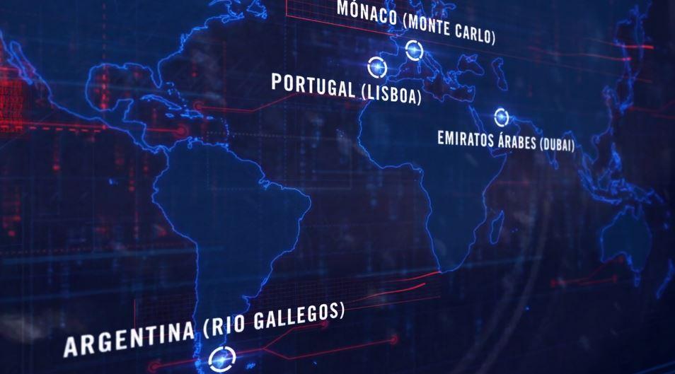 world padel tour mapa 2