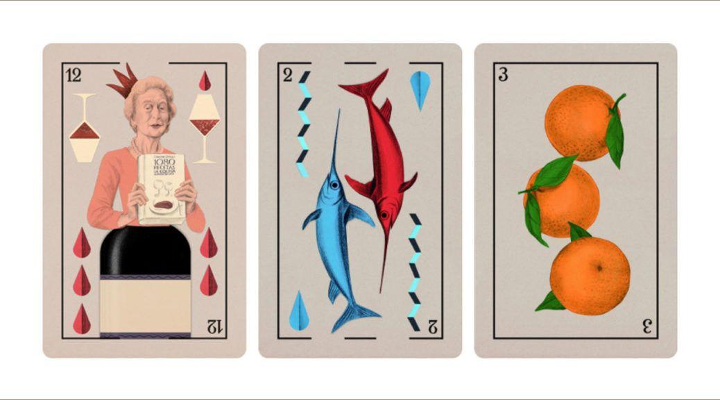 La gastronomía española ya tiene su propia baraja de cartas