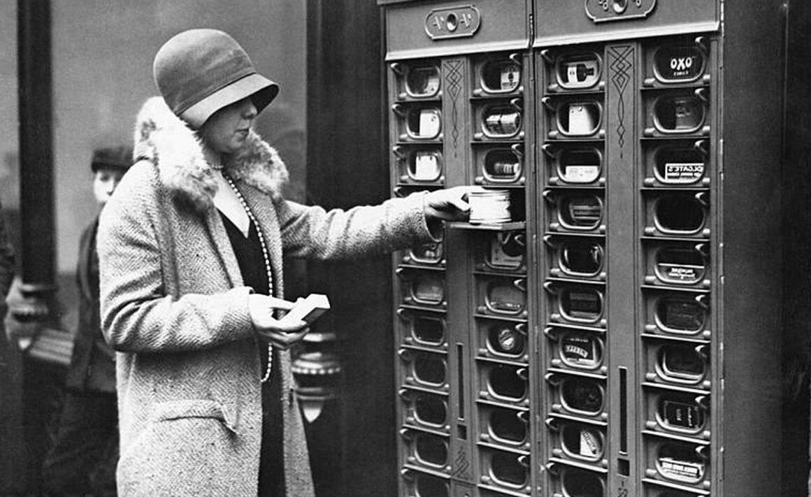 Los 4 inventores. Breve historia de las máquinas de vending I