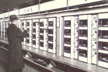 Breve historia de las máquinas de vending