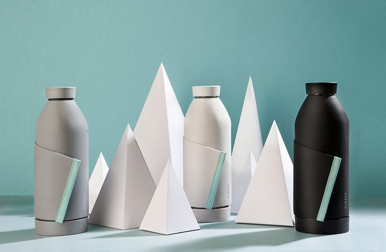 botella agua inteligente glosca