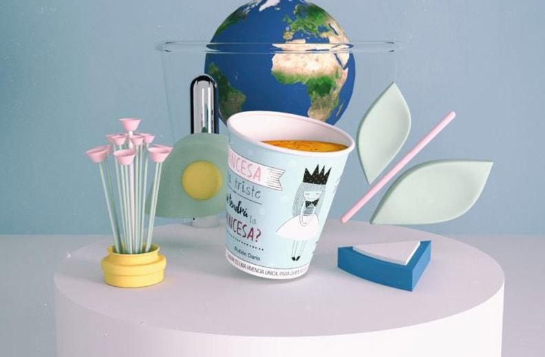 vasos papel ecológico