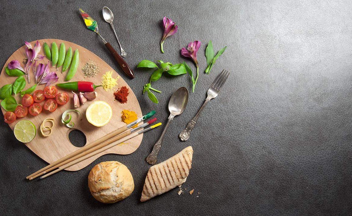 Cuando la comida se convierte en arte