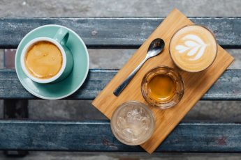 Enamorados del café de Hong Kong