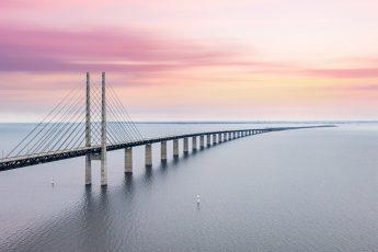 El último puente inaugurado por dos reyes